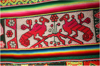 Andean textiles competition — Weaving Communities of Practice